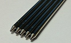 Blue, Fine Tip Generic Refills for Livescribe 3, Smooth-writing Premium German Ink