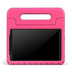 BMOUO ShockProof EVA Handle Stand Kids Case for Samsung Galaxy Tab A 8.0 – Rose