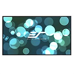 Elite Screens Aeon, 120-inch 16:9, Ambient Light Rejecting ALR Fixed Frame EDGE FREE Projection Projector Screen, AR120DHD3
