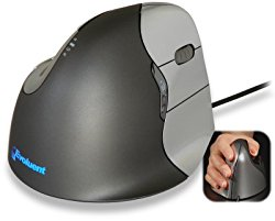 """Evoluent VerticalMouse 4 """"Regular Size"""" Right Hand (model # VM4R) – USB Wired"""