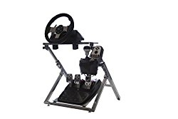 GTR Racing Simulator GS Model Steering Wheel Cockpit Gaming Stand