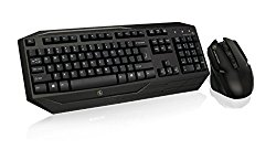 IOGEAR Kaliber Gaming Wireless Gaming Keyboard and Mouse Combo, GKM602R