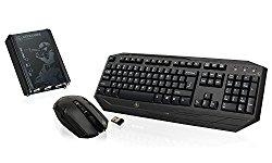 IOGEAR KeyMander Keyboard And Mouse Adapter Kit for PS4, PS3, Xbox One and Xbox 360 with Wireless Keyboard and Mouse, GE1337PKIT