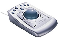 Kensington Turbo Mouse Pro USB Trackball with 6 Direct Web Buttons USB for Windows or Mac – 64214
