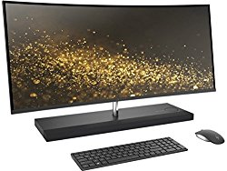 Latest 2017 HP ENVY 34 CURVED All-In-One Desktop (Intel Core i7-7700T Quad Core Processor, 34″ WQHD LED (3440×1440) Display, AMD Radeon RX460, Win 10 Pro, 256GB PCIe + 2TB Hard Drive, 16GB DDR4 RAM)