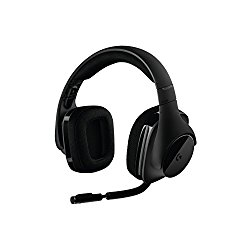 Logitech G533 Wireless DTS 7.1 Surround Sound Gaming Headset (981-000632)