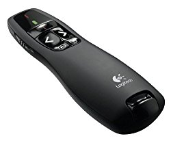 Logitech Wireless Presenter R400, Presentation Wireless Presenter with Laser Pointer