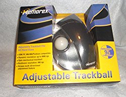 Memorex – Trackball – 3 button(s) – wired – black, beige – retail