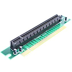 PCI-Express 16x Riser Card 90 Degree Right Angle Riser Adapter Card 1U 2U