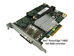 PowerEdge RAID Controller H800 PCI Express card with 2 external port, 8 channel supports SAS 6Gb/s P/N 71N7N