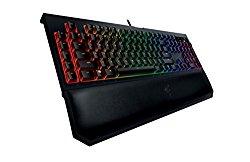 Razer BlackWidow Chroma V2, Clicky Mechanical Gaming Keyboard, Programmable, 5 Macro Keys – Green Switch