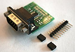 RS232 to TTL converter board DTE with male DB9 3.3V to 5V