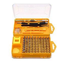 Screwdriver Tool Set, M.Way 108 in 1 Screwdriver Sets Multi-function Computer Repair Tools Essential Tools Digital Mobile Phone Repair Tool Kit