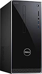 Dell Inspiron 3668 Desktop PC – Intel Core i3-7100, 8GB RAM, 1TB 7200RPM Hard Drive, Intel HD Graphics, DVD, HDMI, USB 3.0, Bluetooth, Windows 10