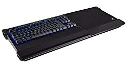 CORSAIR K63 Wireless Mechanical Keyboard & Gaming Lapboard Combo – Game Comfortably on Your Couch – Backlit Blue Led, Cherry MX Red – Quiet & Linear