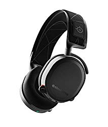 SteelSeries Arctis 7 (2019 Edition) Lossless Wireless Gaming Headset with DTS Headphone:X v2.0 Surround for PC and PlayStation 4 – Black