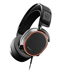 SteelSeries Arctis Pro High Fidelity Gaming Headset – Hi-Res Speaker Drivers – DTS Headphone:X v2.0 Surround for PC