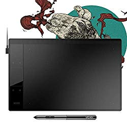 VEIKK A30 Graphics Drawing Tablet with 8192 Levels Battery-Free Pen – 10″ x 6″ Active Area