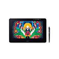 Wacom DTH1320AK0 Cintiq Pro 13″ Creative Pen Display with Link Plus, HD LCD Graphics Monitor, Dark Gray