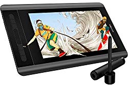 XP-PEN Artist12 11.6 Inch FHD Drawing Monitor Pen Display Graphic Monitor with PN06 Battery-Free Pen Multi-Function Pen Holder and Glove 8192 Pressure Sensitivity