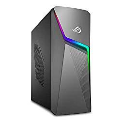 ASUS ROG Strix GL10CS Gaming Desktop PC, Intel Core i7-8700, GeForce GTX 1050, 8GB DDR4 RAM, 1TB 7200RPM HDD, Wi-Fi 5, Windows 10 Home, GL10CS-DS751