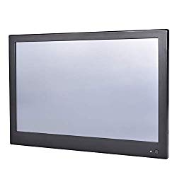 13.3 Inch Industrial Touch Panel PC,All in One Computer,4 Wire Resistive Touch Screen,Windows 7/10,Linux,Intel J1800,(Black),[HUNSN WD10],[3RS232/VGA/LAN/3USB2/1USB3/Fanless],(4G RAM/128G SSD)