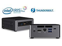 Intel NUC NUC7i7BNH Mini PC, Intel Core i7-7567U 3.5GHz, 8GB DDR4, 240GB SSD, Windows 10 Pro, WiFi, BT 4.2, HDMI, Thunderbolt 3, 4k Support, Dual Monitor Capable (i7 NUC + 8GB RAM + 240GB SSD)