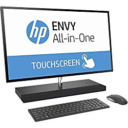 HP Envy 27 Touch Desktop 4TB SSD 32GB RAM UHD 4K (Intel Core i7-8700T Processor Turbo 4.00GHz, 32 GB RAM, 4 TB SSD, 27″ UHD 4K Touchscreen, Win 10) PC Computer All-in-One