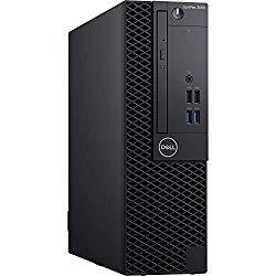 Dell OptiPlex 3060 SFF Desktop Computer with Intel Core i5-8500 3 GHz Hexa-Core, 8GB RAM, 500GB HDD (62H0G)