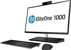 HP EliteOne 1000 G2 Envy 27 4K UHD Desktop 2TB SSD + 2TB HD 32GB RAM (Intel Core i7-8700 CPU Turbo 4.60GHz, 32 GB RAM, 2 TB SSD + 2 TB HD, 27″ UHD 4K (3840 x 2160),Win 10 PRO) PC Computer All-in-One