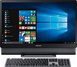 Samsung 24″ Full HD Touch-Screen All-in-One Computer, Intel Core i5-7400T up to 3.0GHz, 12GB DDR4, 1TB HDD, WiFi, Bluetooth, Windows 10, Titan Gray