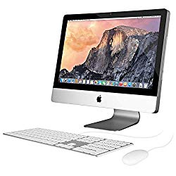 Apple iMac MC309LL/A 21.5-Inch Intel Core i5 2.5GHZ – 500GB HDD Desktop (Renewed)