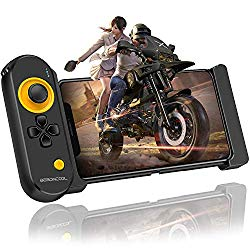 BEBONCOOL Mobile Controller for iOS iPhone, PUBG Mobile Game Controller with Triggers for 5.5-7.9 Inch iOS iPhone, Wireless Mobile Controller Remote PUBG Gamepad for Bluetooth iOS FPS Games