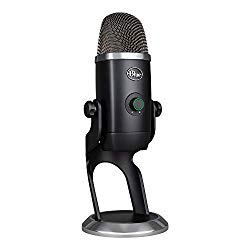 Blue Yeti x Professional Condenser USB Microphone with High-Res Metering, LED Lighting & Blue Vo!Ce Effects for Gaming, Streaming & Podcasting On PC & Mac
