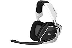 Corsair Gaming Void RGB Elite Wireless Premium Gaming Headset with 7.1 Surround Sound, White