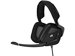 Corsair Void RGB Elite USB Premium Gaming Headset with 7.1 Surround Sound, Carbon