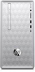 HP Pavilion 590-p0081c Desktop Computer Intel Core i5-8400 16B Intel optane 12GB DDR4 RAM 1TB HDD DVDRW AMD Radeon RX 550 Win10 (New)
