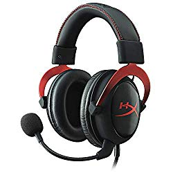 HyperX Cloud II Gaming Headset for PC & PS4 & Xbox One, Nintendo Switch – Red (KHX-HSCP-RD) (Renewed)