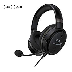 HyperX Cloud Orbit – Gaming Headset, 3D Audio, for PC, Xbox One, PS4, Mac, Mobile, Nintendo Switch, Planar Magnetic Headphones with Detachable Noise Cancelling Microphone, Pop Filter