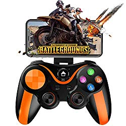 Mobile Controller for PUBG, Megadream Mobile Gamepad Wireless Game Controller Joystick for Android/iOS/iPhone/iPad, Key Mapping