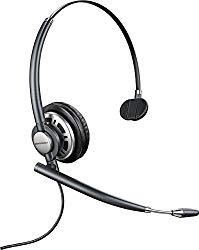 Plantronics 78712-101 EncorePRO 710 Wired USB Headset, Black