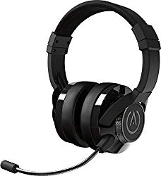 PowerA Fusion Wired Stereo Gaming Headset with MIc for PlayStation 4, Xbox One, Xbox One X, Xbox One S, Xbox 360, Nintendo Switch, PC, Mac, VR, Android, and IOS – Black