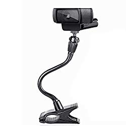 Smatree Flexible Jaws Clamp Clip Mount Holder Compatible for Logitech Webcam C925e C922x C922 C930e C930 C920 C615, Gopro Max, GoPro Hero 8/7/6/5, Arlo Ultra/Pro/Pro 2/Pro 3