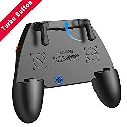UBG Mobile Controller COD Mobile Game Controller with Auto Mode Fire Button, Capacitance Mapping L1 R1 Aim and Shoot Triggers Gamepad, Joystick Remote Grip for 4.7-6.5″ Android iOS Phone Accessories