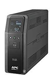 APC Sine Wave UPS, 1000VA UPS Battery Backup & Surge Protector, Back-UPS Pro Uninterruptible Power Supply (BR1000MS)