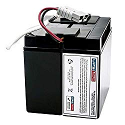APC Smart-UPS 1500VA USB 120V Shipboard SUA1500X93 UPSBatteryCenter Compatible Replacement Battery Pack