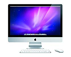 Apple iMac 27-inch Desktop Computer MC511LL/A – 4GB RAM – 1TB HDD – 2.8GHz Core i5 (Renewed)