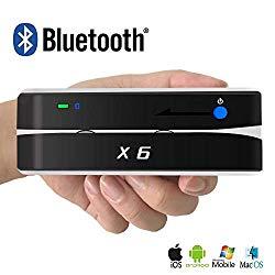 Bluetooth X6BT VIP Card Reader Writer Encoder Card Swiper Scanner