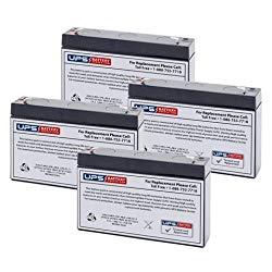 MGE Pulsar Evolution 1100 Rack Replacement Battery Set