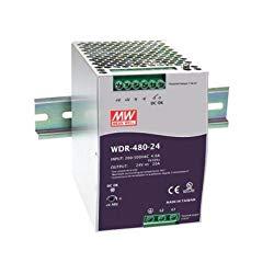 MW Mean Well WDR-480-24 24V 20A DIN Rail Power Supplies